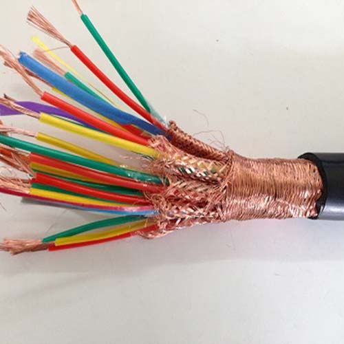 Silicone rubber instrument signal cable