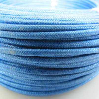 H03rt-h fiberglass silicone rubber coated cable with textile braid for electric iron
