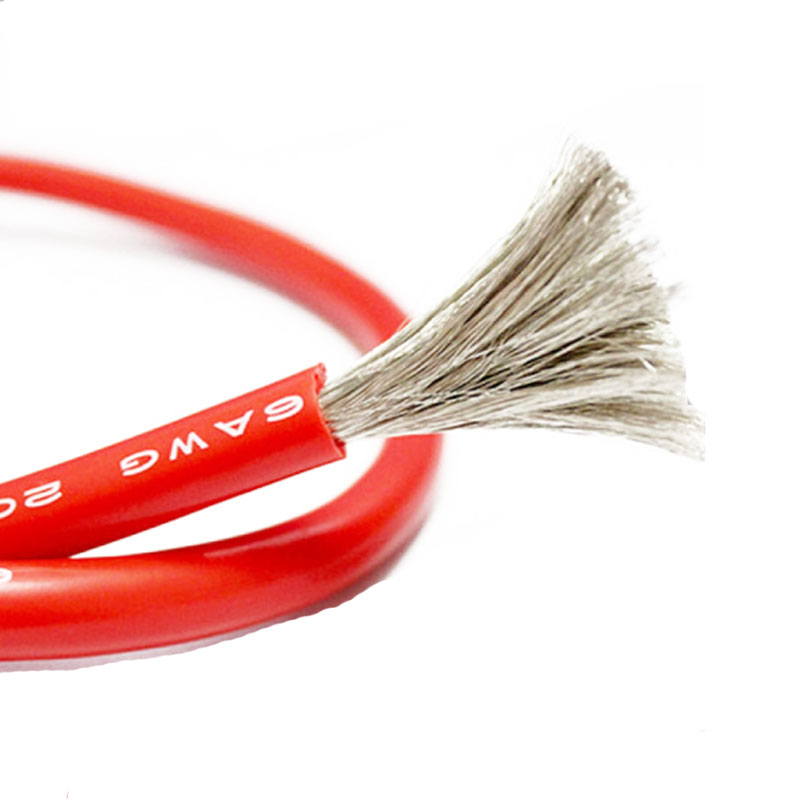 12awg 14awg 16awg 18awg flexible fire proof UL3240 silicone rubber wire and cable